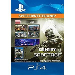 Call of Duty: Infinite Warfare Sabotage Edition DLC [PS4 Download Code – österreichisches Konto]