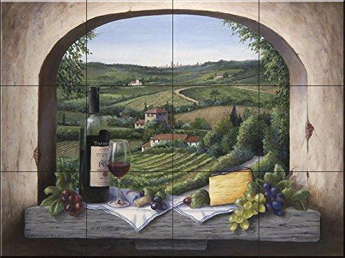 Fliesenwandbild - Portwein - von Barbara Felisky - Küche Aufkantung/Bad Dusche
