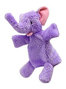 ABA 28cm marioneta de mano de elefante con patas (Morado)