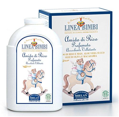 linea-bimbi-newborn-baby-bath-rice-starch-certified-organic-97-natural-talcum-free-dermatology-teste