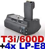 Produktbild von Neewer® Batteriegriff Akkugriff für Canon EOS 550D