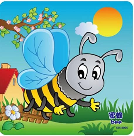 Whyyudan Whyyudan Whyyudan Jouet éducatif précoce Mignon Insectes en Bois Puzzle Early Learning Toy Cadeaux fantastiques pour Les  s (Abeille) B07HDK3J61 2ec849