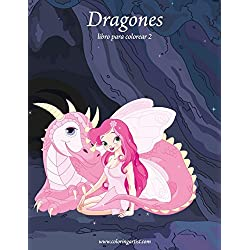 Dragones libro para colorear 2: Volume 2