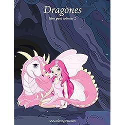 Dragones libro para colorear 2: Volume 2