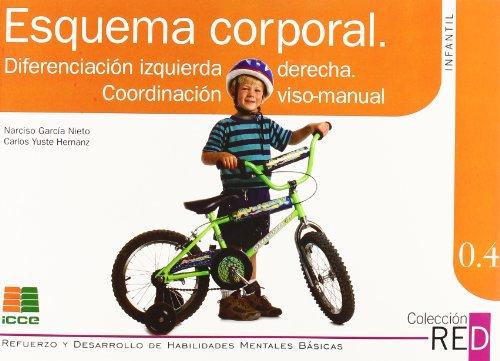 RED 0.4: esquema corporal, diferenciación izquierda derecha, coordinación viso-manual por Narciso García Nieto