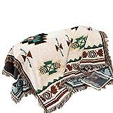 FOREVER-YOU Baumwolle Decke Klimageräte Decke Handtuch Zudecken Handtuch Decke Farbe Thema Decke Sofa Decken,155 * 210 cm,EIN