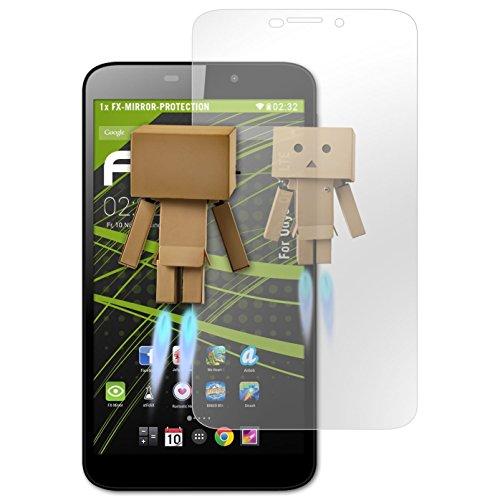 atFolix Bildschirmfolie kompatibel mit Odys Orbit LTE Spiegelfolie, Spiegeleffekt FX Schutzfolie