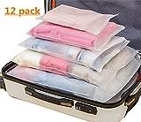 Sistema di Cubo di Viaggio 12 Impermeabile Trasparente Organizzatori di Viaggio Bagagli Beauty Case Organizzatore Perfect per Viaggio Bagagli