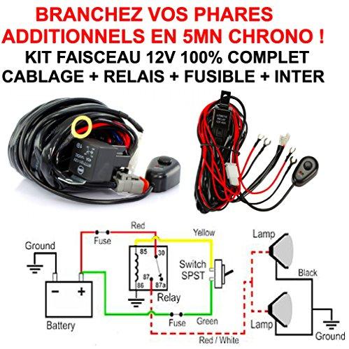 Fascio 12V 100% completo (relè Fusibile Interruttore usato  Spedito ovunque in Italia