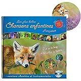 Livre avec CD: Les plus belles Chansons enfantines francaises