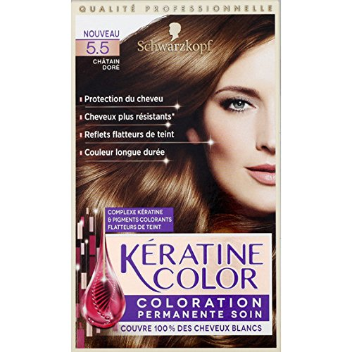 kranove 55 chtain dor coloration permanente soin la boite de 154ml - Keranove Coloration Sans Ammoniaque