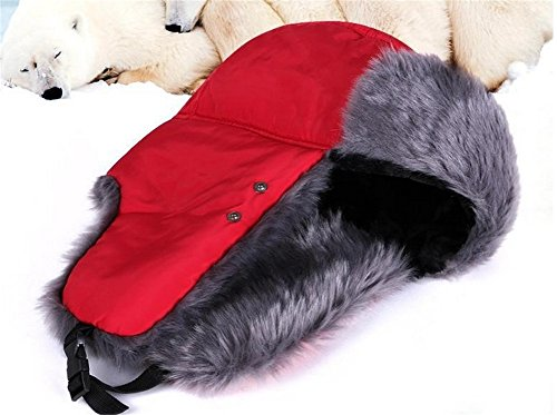 Oumosi Unisex Nylon Russian Style Winter Ear Flap Hat