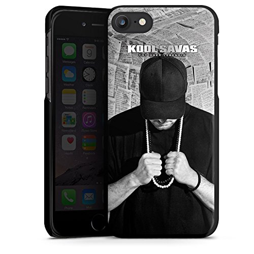 Apple iPhone 7 Hülle Case Handyhülle Kool Savas Fanartikel Merchandise Tot oder Lebendig - Album Artwork Hard Case schwarz