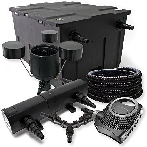 Sunsun filtro set 60000l stagno 36 w laghetti neo8000 70 w for Filtro per stagno