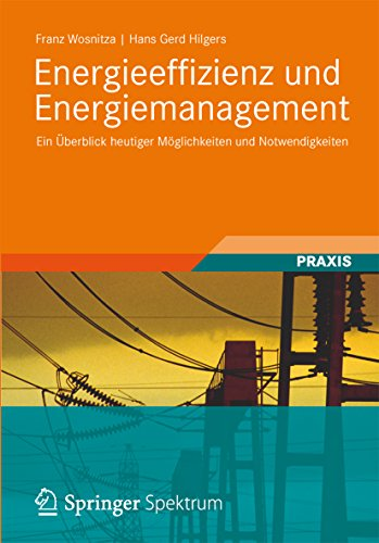 Energieeffizienz und Energiemanagement: Ein Überblick heutiger Möglichkeiten und Notwendigkeiten