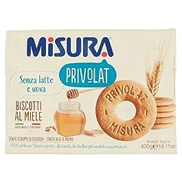 Misura Privolat Biscotti al Miele Italiano – 400 gr