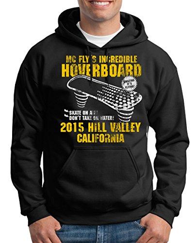 TShirt-People Hoverboard California Kapuzenpullover Herren XXL Schwarz
