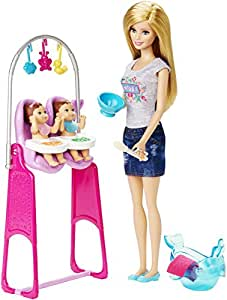 Barbie Twin Babysitter, Multi Color