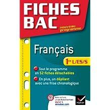 Fiches Bac Français 1re L/ES/S