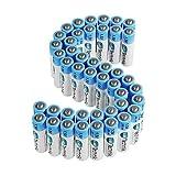 Slabo LR03 AAA Pile Micro Ministilo Alcaline - 1.5V - 10 Anni durabilità - Batterie per Il Telecomando | Giocattoli | Controller di Gioco ECC. - Confezione da 40