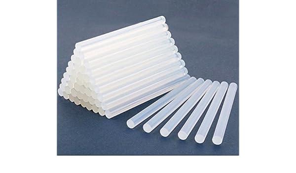 Hei/ßklebe Sticks 11mm x 100mm f/ür 60 Watt Klebepistole DIY Kunsthandwerk Coolty 100 St/ück Schmelze Klebepistole Sticks