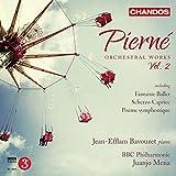 Pierne:Orchestral Works vol.2 [Juanjo Mena, Jean-Efflam Bavouzet; BBC Philharmonic ] [CHANDOS : CHAN 10871]
