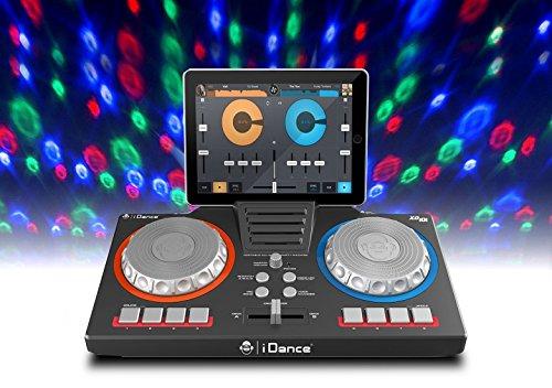 Portables DJ-Party System mit Lautsprecher+Discolicht+Mikro 20Watt iDance XD101