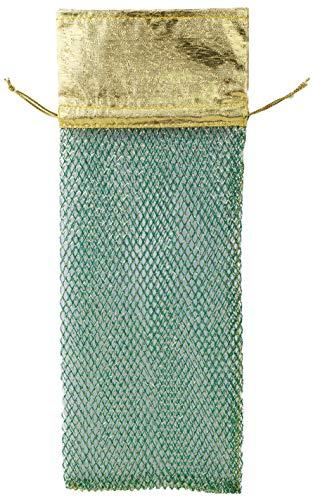 Las bolsas de vino vienen en 3 colores: rojo, verde, dorado. Se elige 1 al azar. Adecuado para botellas de vino, ayuda a proteger del polvo y es perfecto para el almacenamiento en el hogar, así como para el embalaje de botellas de regalo. Las bolsas ...