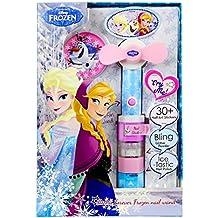 Frozen - Kit de esmaltes de uñas y secador (Markwins 9528810)