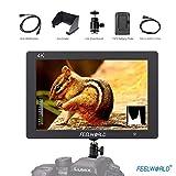 FeelWorld T7 Kamera Monitor LCD Feldmonitor Bildschirm 7 Zoll IPS 1920x1080 Full HD 4K HDMI für Canon Nikon Panasonic Sony DSLR Kamera