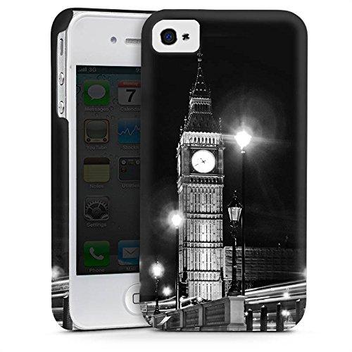 Apple iPhone 5s Housse étui coque protection Big Ben Londres Angleterre Cas Premium mat