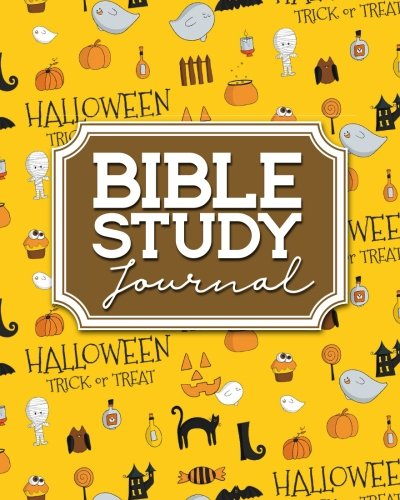 Bible Journal For Women, Bible Study Notebook, Bible Notes And Journals, Daily Bible Devotional Books, Cute Halloween Cover (Bible Study Journals, Band 22) ()