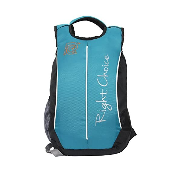 Generic Right Choice Black and Blue Boy's and Girl's Backpack Bags