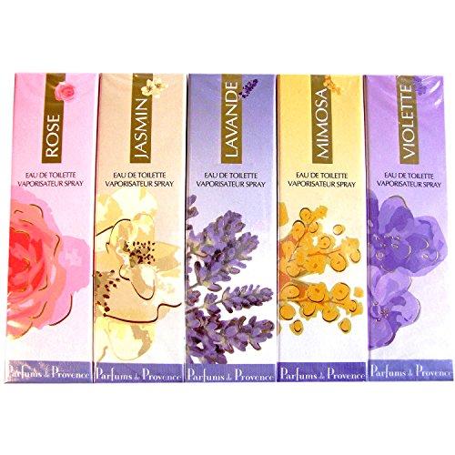 Charrier Parfums - Pack 5 Eaux de Toilette Charrier 'Parfums de Provence' 150ml