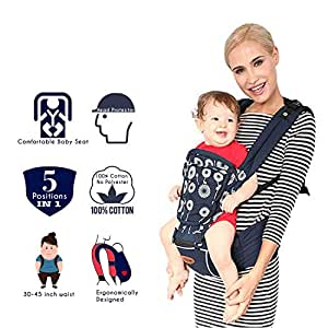 1ffa84860a4 Buy Kiddale Cotton Baby Carrier Sling Bag with Head Protector ...