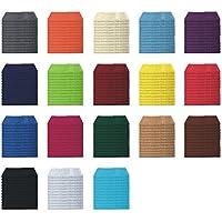 Juego de toallas para invitados, de 6 o 12 unidades en muchos colores – Toallas