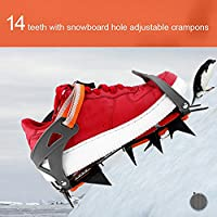 Crampons Traction Device 14 Teeth Strap Type Crampons Ski Belt Slip-resistant