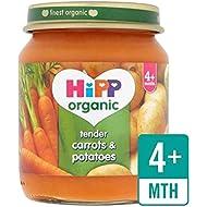 Hipp Tendres Organique De Carottes Et Pommes De Terre 125G - Paquet de 2