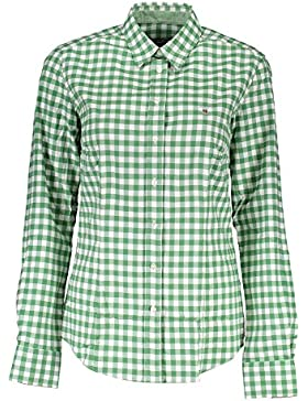 Gant 1403.431500 Camisa con Las Mangas largas Mujer Verde 325 40