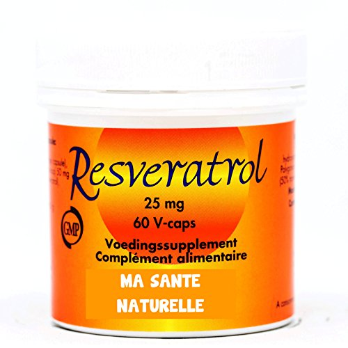 RESVÉRATROL 25 mg - 60 capsules végétales
