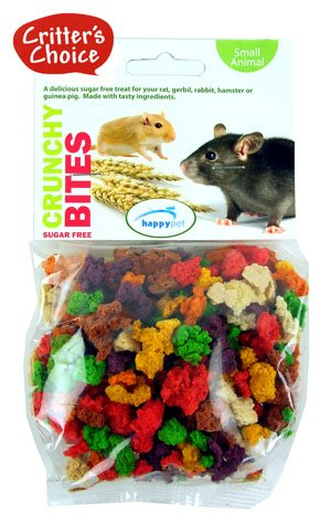 (Critters Choice) Small Animal Crunchy Bites Sugar Free 100g