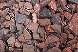 Kies Splitt Zierkies Edelsplitt Roter Minenstein 10-25mm Sack 20 kg