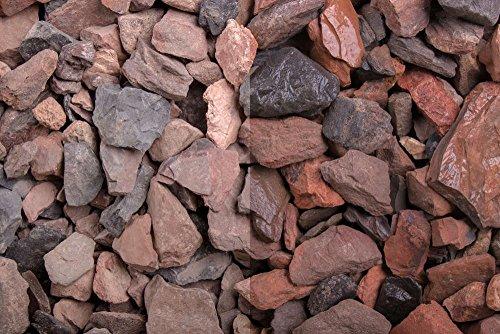 Kies Splitt Zierkies Edelsplitt Roter Minenstein 10-25mm Big Bag 1000 kg