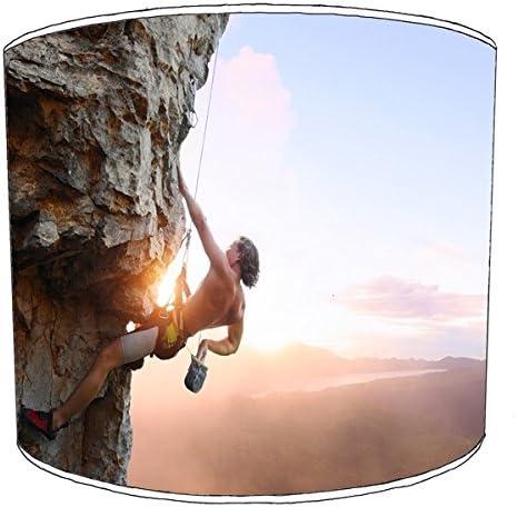 Premier Lampshades Rock da Climbing Stampa Paralume da Rock soffitto, 20,3 cm 9, 30,5 cm 46aec2
