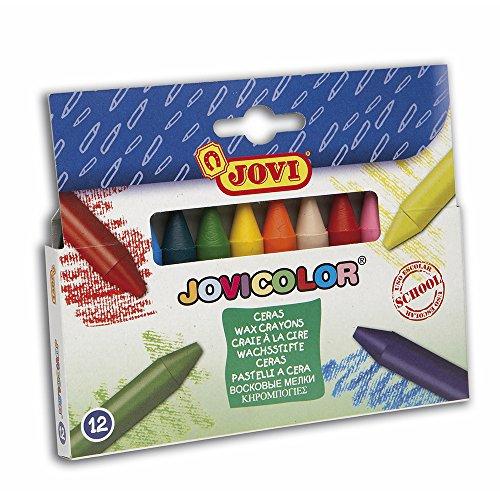 JOVI 980/12 Box 12 Wachsmalstifte