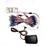 Starlight Pixel RGB Led String With Remote Control Controller And 5V Dc Driver (20)