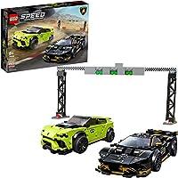 LEGO 76899 Speed Champions Lamborghini Urus ST-X and Lamborghini Huracan Super Trofeo EVO  Building Kit