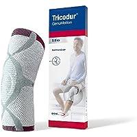 Tricodur GenuMotion Aktiv Bandage weiß/grau/ rot Gr. XL, Kniebandagen preisvergleich bei billige-tabletten.eu