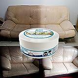 BZLine Multifonctionnel Nettoyant Cuir Crème Rénovante Cuir, Canapé/Chaise/crème de Nettoyage pour voiture-260g