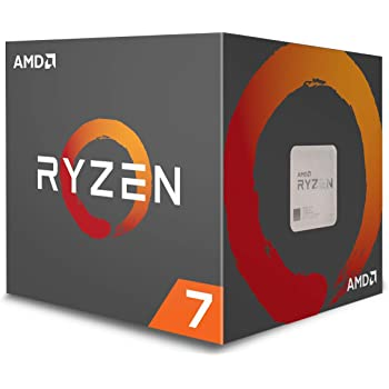 AMD YD1700BBAEBOX Ryzen 7 1700 Processor with Wraith Spire RGB LED Cooler